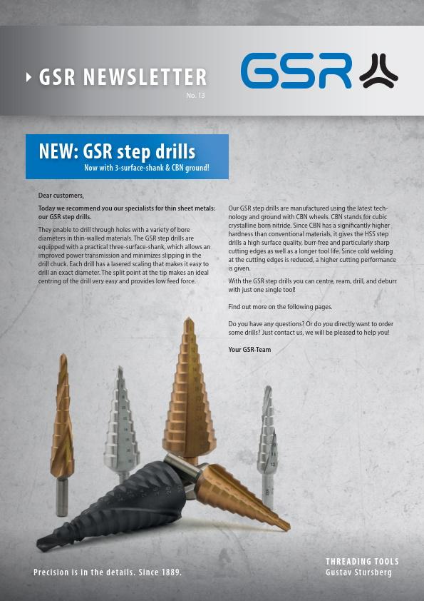 GSR newsletter: Step drills