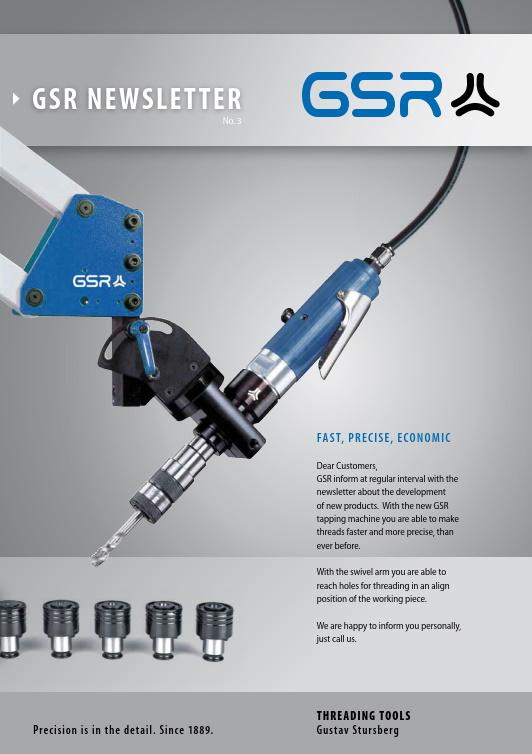 GSR newsletter: Tapping Machine