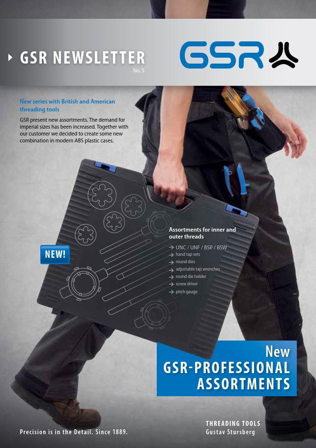GSR newsletter: Professional Assortments
