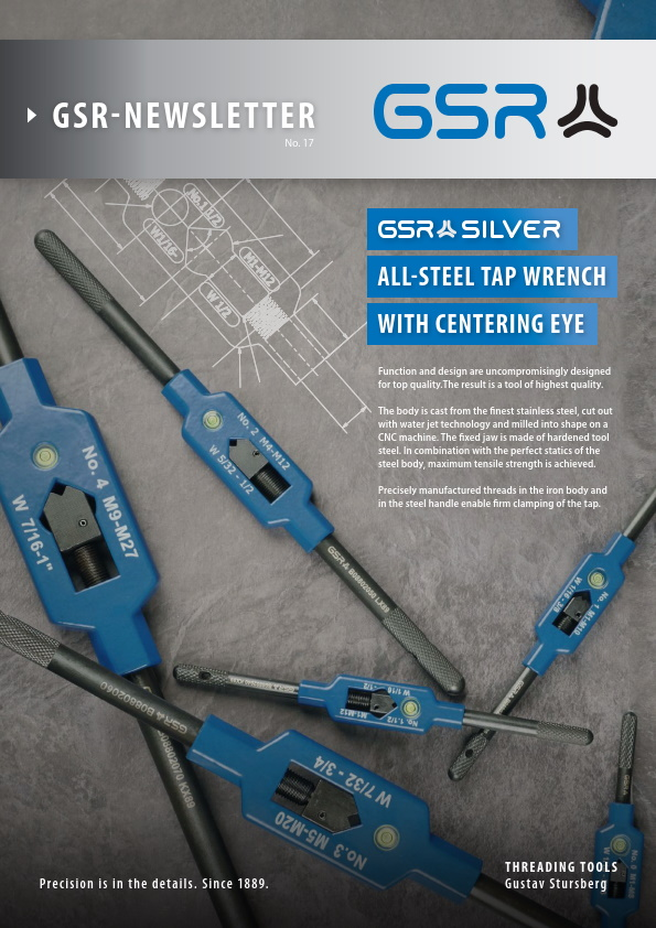Newsletter steel tap wrench
