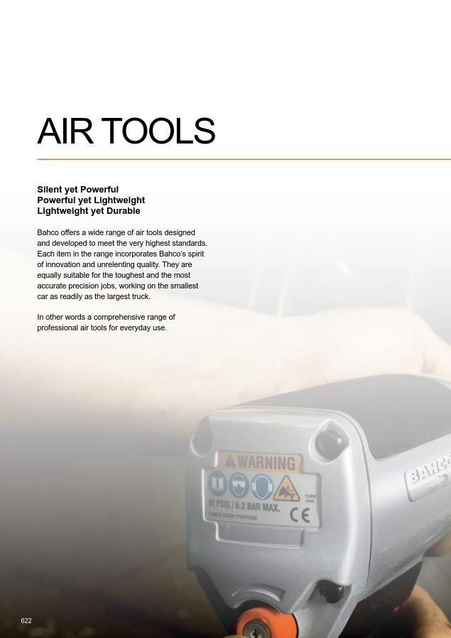 BAHCO - pneumatic tools