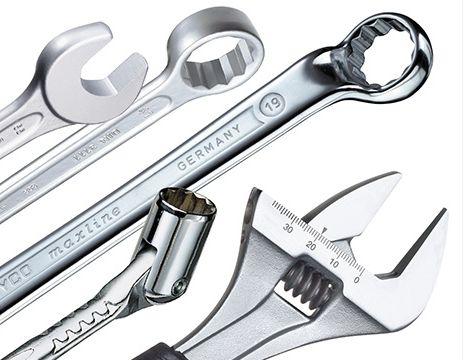 Ключи рожковые, накидные, комбинированные, разводные, специальные